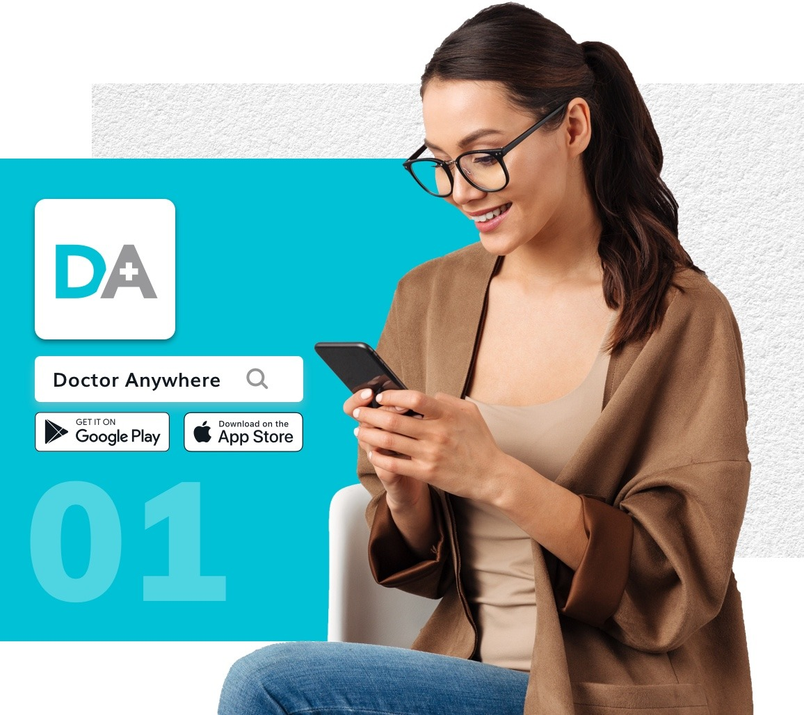 How to book Doctor Anywhere services on the DA app