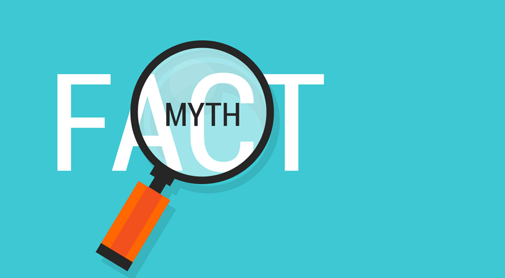 Learn to sort out fact from myth as we clear up some common health misconceptions.